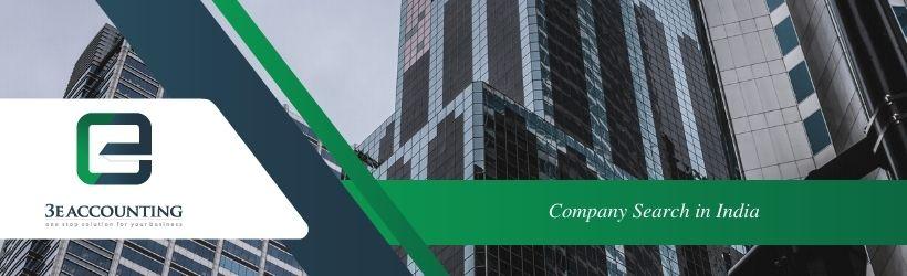 Company Search in India