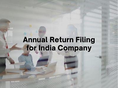 Annual Return Filing for India Company