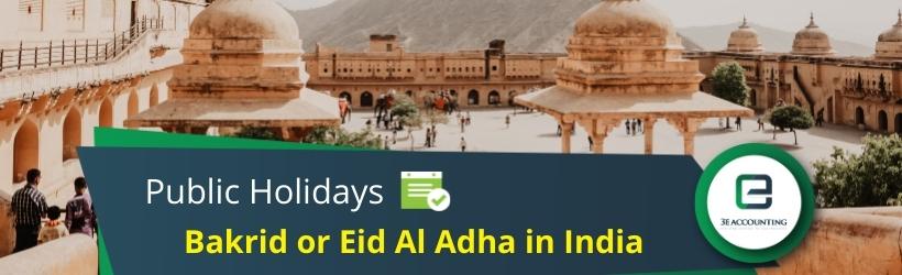 Bakrid or Eid Al Adha