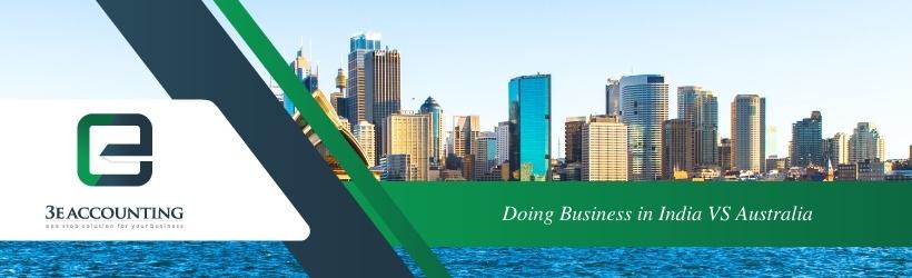 Doing Business in India VS Australia