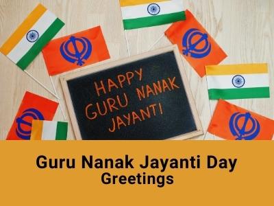 Guru Nanak Jayanti Day Greetings